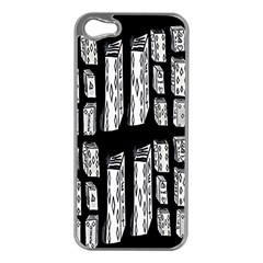 Numbers Cards 7898 Apple Iphone 5 Case (silver)