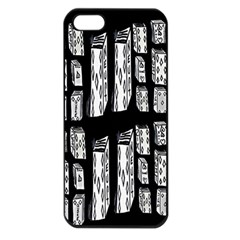 Numbers Cards 7898 Apple Iphone 5 Seamless Case (black)