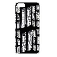 Numbers Cards 7898 Apple Iphone 5 Seamless Case (white)