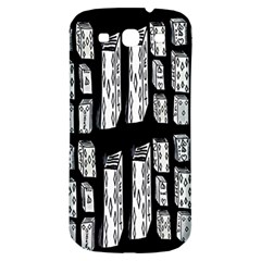 Numbers Cards 7898 Samsung Galaxy S3 S Iii Classic Hardshell Back Case