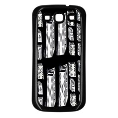 Numbers Cards 7898 Samsung Galaxy S3 Back Case (black)