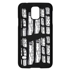 Numbers Cards 7898 Samsung Galaxy S5 Case (black)