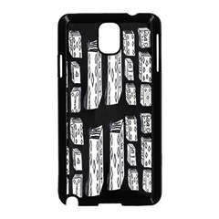 Numbers Cards 7898 Samsung Galaxy Note 3 Neo Hardshell Case (black)