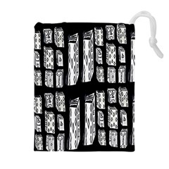 Numbers Cards 7898 Drawstring Pouches (extra Large)