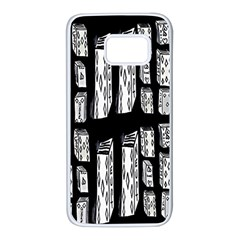 Numbers Cards 7898 Samsung Galaxy S7 White Seamless Case