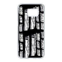 Numbers Cards 7898 Samsung Galaxy S7 Edge White Seamless Case