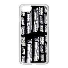 Numbers Cards 7898 Apple Iphone 7 Seamless Case (white)