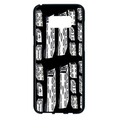 Numbers Cards 7898 Samsung Galaxy S8 Plus Black Seamless Case