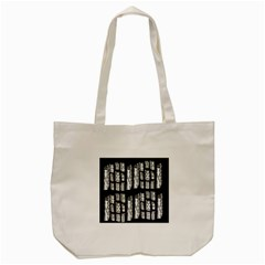 Numbers Cards 7898 Tote Bag (cream)
