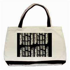 Numbers Cards 7898 Basic Tote Bag (two Sides)
