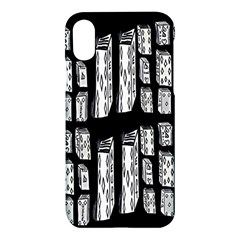 Numbers Cards 7898 Apple Iphone X Hardshell Case