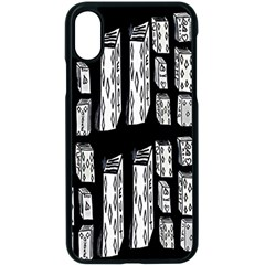 Numbers Cards 7898 Apple Iphone X Seamless Case (black)