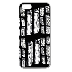 Numbers Cards 7898 Apple Seamless Iphone 5 Case (clear)