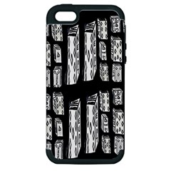 Numbers Cards 7898 Apple Iphone 5 Hardshell Case (pc+silicone)