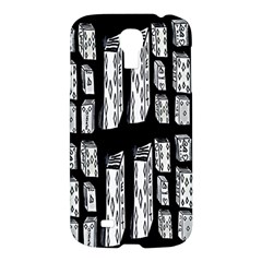 Numbers Cards 7898 Samsung Galaxy S4 I9500/i9505 Hardshell Case
