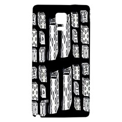 Numbers Cards 7898 Galaxy Note 4 Back Case