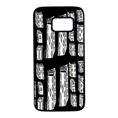 Numbers Cards 7898 Samsung Galaxy S7 Black Seamless Case