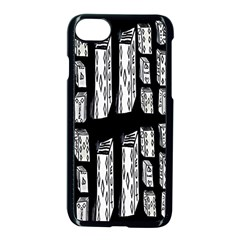 Numbers Cards 7898 Apple Iphone 7 Seamless Case (black)