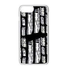 Numbers Cards 7898 Apple Iphone 8 Plus Seamless Case (white)