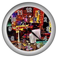 Home Sweet Home Wall Clocks (silver)