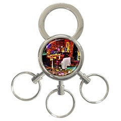 Home Sweet Home 3 Ring Key Chains
