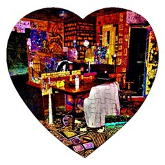 Home Sweet Home Jigsaw Puzzle (heart)