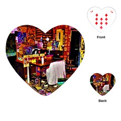 Home Sweet Home Playing Cards (heart)