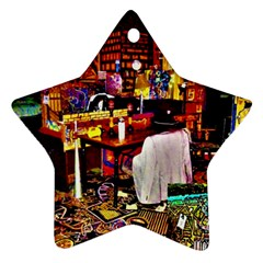 Home Sweet Home Star Ornament (two Sides)