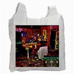Home Sweet Home Recycle Bag (two Side)