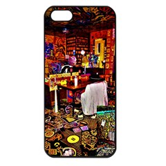 Home Sweet Home Apple Iphone 5 Seamless Case (black)