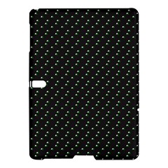 Pink Flowers On Black Samsung Galaxy Tab S (10 5 ) Hardshell Case