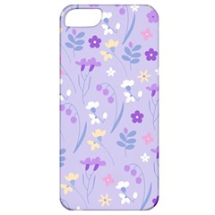 Violet,lavender,cute,floral,pink,purple,pattern,girly,modern,trendy Apple Iphone 5 Classic Hardshell Case