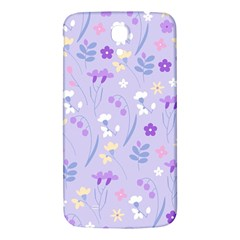 Violet,lavender,cute,floral,pink,purple,pattern,girly,modern,trendy Samsung Galaxy Mega I9200 Hardshell Back Case