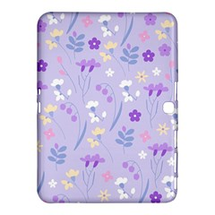 Violet,lavender,cute,floral,pink,purple,pattern,girly,modern,trendy Samsung Galaxy Tab 4 (10 1 ) Hardshell Case