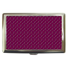 Pink Flowers Magenta Cigarette Money Cases