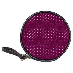 Pink Flowers Magenta Classic 20 Cd Wallets