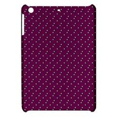 Pink Flowers Magenta Apple Ipad Mini Hardshell Case