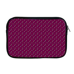 Pink Flowers Magenta Apple Macbook Pro 17  Zipper Case