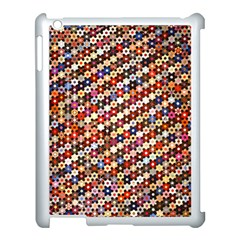 Mosaic Pattern Quilt Pattern Apple Ipad 3/4 Case (white)