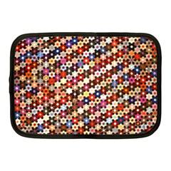 Mosaic Pattern Quilt Pattern Netbook Case (medium)