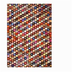 Mosaic Pattern Quilt Pattern Large Garden Flag (two Sides)