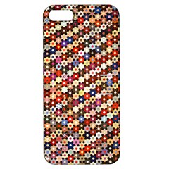 Mosaic Pattern Quilt Pattern Apple Iphone 5 Hardshell Case With Stand