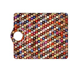 Mosaic Pattern Quilt Pattern Kindle Fire Hdx 8 9  Flip 360 Case