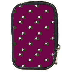 Pink Flowers Magenta Big Compact Camera Cases