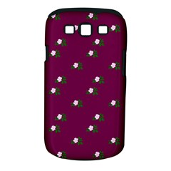 Pink Flowers Magenta Big Samsung Galaxy S Iii Classic Hardshell Case (pc+silicone)