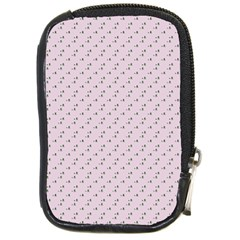Pink Flowers Pink Compact Camera Cases