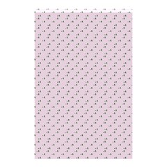 Pink Flowers Pink Shower Curtain 48  X 72  (small)