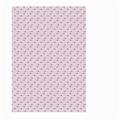 Pink Flowers Pink Large Garden Flag (two Sides)