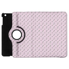 Pink Flowers Pink Apple Ipad Mini Flip 360 Case