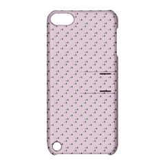 Pink Flowers Pink Apple Ipod Touch 5 Hardshell Case With Stand